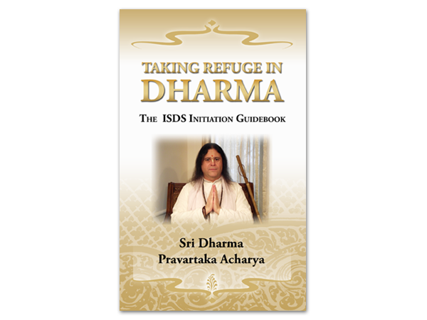 Taking Refuge in Dharma