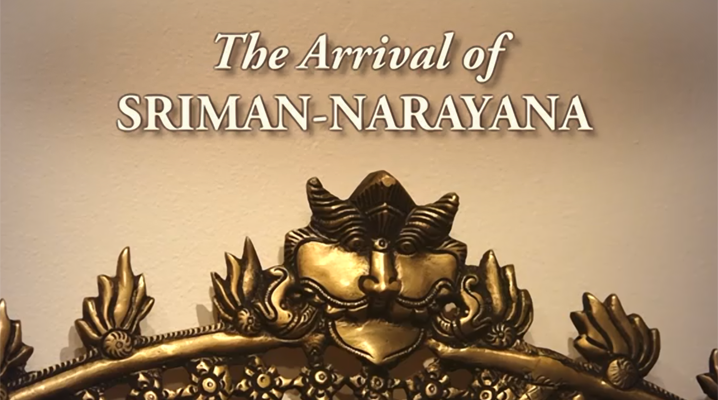 The Arrival of Sriman Narayana Video
