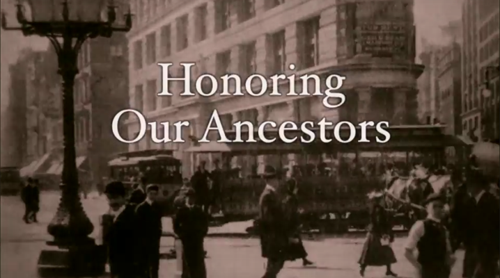 Honoring Our Ancestors Video
